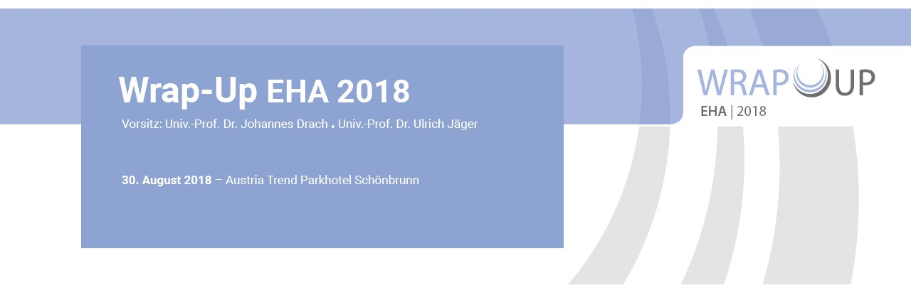 Wrap-Up EHA 2018